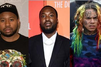 "6ix9ine & Akademiks Trash Meek Mill: ""You're Signed To A Cop & Managed By A Rat"""