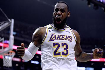 LeBron James Sends A Message To Rivals Ahead Of NBA Reboot