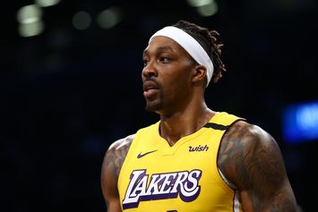 "Dwight Howard Says It's ""Pointless"" To Report Him For Not Wearing Mask"