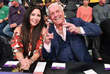 WWE Legend Ric Flair Confirms His Wife Has Coronavirus
