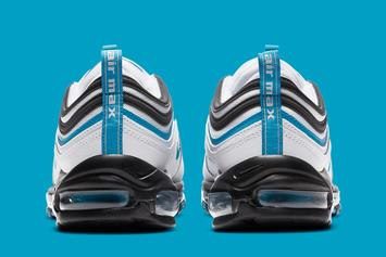 "Nike Air Max 97 ""Laser Blue"" Drops Soon: Official Photos"