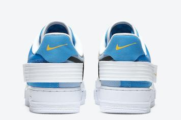 """Nike Air Force 1 Type """"Photo Blue"""" Dropping Soon: Photos"""