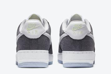 Nike Air Force 1 Low With Recycled Materials Drops Soon: Photos