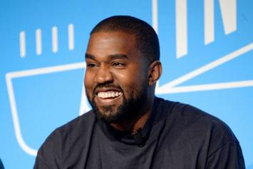 Kanye West Enjoys Family Time As He Dances With Daughter North West