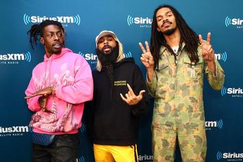 Flatbush Zombies Bring Energy To NPR Tiny Desk Concert