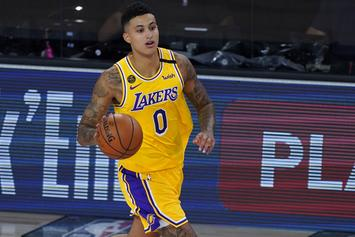 Kyle Kuzma Reacts To NBA Not Letting Random Guests Into Bubble