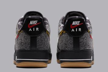 """Nike Air Force 1 Low """"Remix Pack"""" Features Denim Upper: Photos"""
