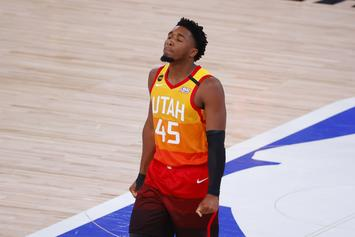 Donovan Mitchell Displays Visible Frustration After Jazz Loss