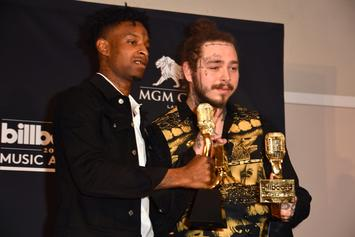 "Post Malone & 21 Savage's ""Rockstar"" Surpasses 2 Billion Streams"