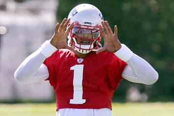 Cam Newton Explains Just How Excited He Is For Patriots Debut