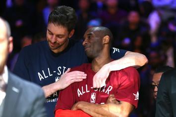 Pau Gasol Names First Born Child After Kobe Bryant