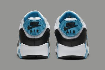 "Nike Air Max 90 ""Laser Blue"" Set For Return: Official Photos"