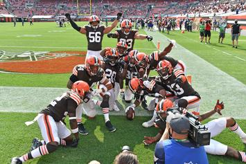 Browns Reach Winning Record For First Time In 6 Years