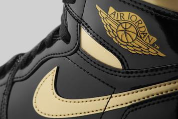 "Air Jordan 1 ""Metallic Gold"" Release Date Confirmed: Photos"