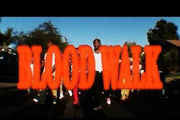 "YG Has The Whole Block Doing The ""Blood Walk"" In New Video"