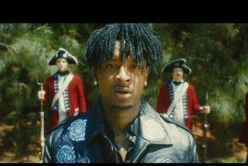 """21 Savage Pulls Up With The Redcoats For """"My Dawg"""" Video"""