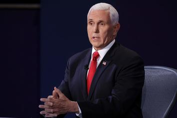 Mike Pence & Pink Eye Trend After Debate