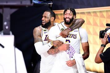 Anthony Davis Comments On Upcoming Lakers Free Agency