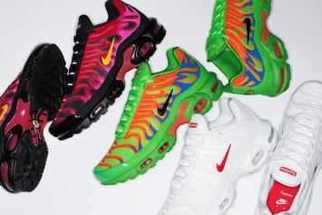Supreme x Nike Air Max Plus Collection Unveiled: Photos