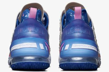 """Nike LeBron 18 """"Los Angeles By Day"""" Drops Soon: Official Photos"""