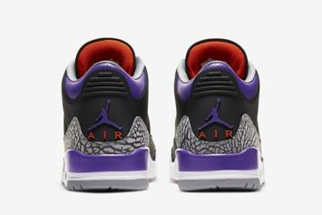 "Air Jordan 3 ""Court Purple"" Officially Unveiled: Photos"