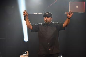"""Ice Cube Wasn't Sidelined By Biden Over """"Contract With Black America"""": Report"""