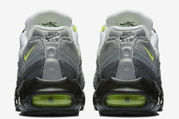 "Nike Air Max 95 ""Neon"" Retro Release Date Revealed"