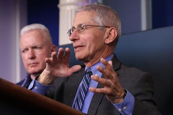 """Dr. Anthony Fauci Warns COVID-19 Vaccine Won't Be Available For Kids For """"Months"""""""