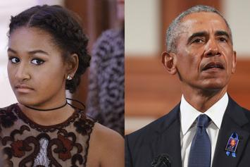 Sasha Obama Has A Private SoundCloud That She Hides From Her Dad