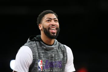 Anthony Davis Speaks Out On Massive Lakers Deal