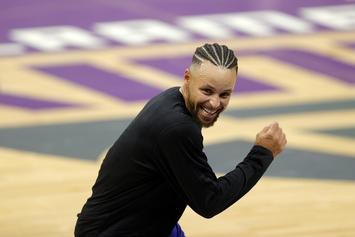 Steph Curry Does Hilarious E-40 Dance Moves Imitation