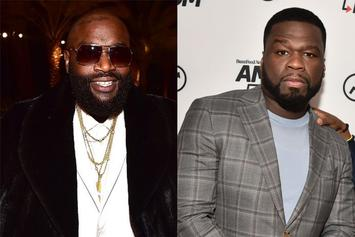 """Rick Ross Discounts 50 Cent's Talent: """"He Can't Make Nothing"""""""