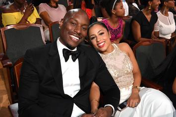 Tyrese & Wife Samantha Announce They're Divorcing After 4 Years Of Marriage: Report