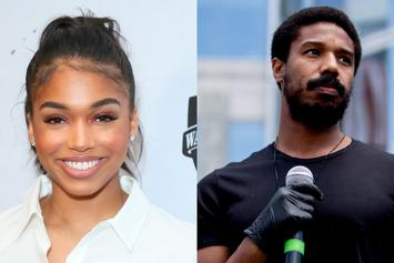Lori Harvey & Michael B. Jordan Get Cozy In The Sun During St. Barts Vacation