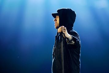 """Eminem Appears To """"Call Out"""" Dana White"""