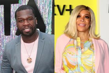 50 Cent Reacts To Wendy Williams' & Method Man's One-Night-Stand