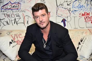 """Robin Thicke Defends """"Blurred Lines"""" Against Critics: """"We Were Just Jamming"""""""