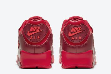 "Nike Air Max 90 Dropping In ""Chicago"" Colorway: Photos"