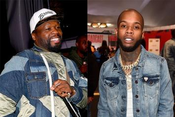 50 Cent Trolls Tory Lanez' Patchy Hair With Shooting Meme