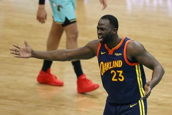 Draymond Green Angry At Himself After Outburst Vs. Hornets