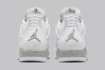 "Air Jordan 4 ""White Oreo"" Gets Official Images: Release Info"