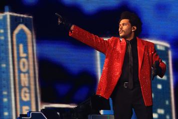 """The Weeknd Spends An Entire Year On Hot 100 Top 10 With """"Blinding Lights"""""""