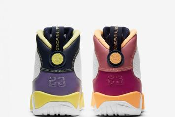"""Air Jordan 9 """"Change The World"""" Officially Unveiled: Photos"""