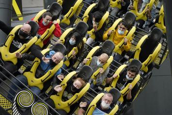 California To Reopen Theme Parks, But Officials Advise No Screaming On Roller Coasters