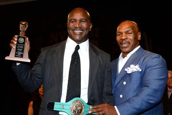 Mike Tyson Reportedly Turned Down $25 million Evander Holyfield Fight