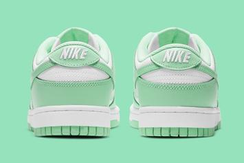 "Nike Dunk Low ""Green Glow"" Coming Soon: Official Photos"