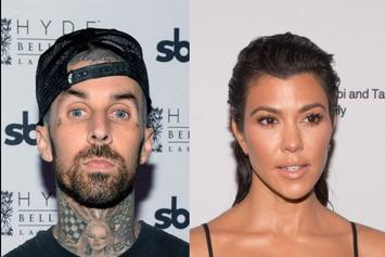 Travis Barker Gets Tattoo Of Kourtney Kardashian's Name On His Chest