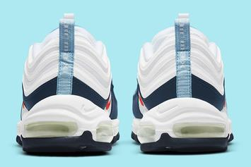 """Nike Air Max 97 Receives Unofficial """"USA"""" Colorway: Photos"""
