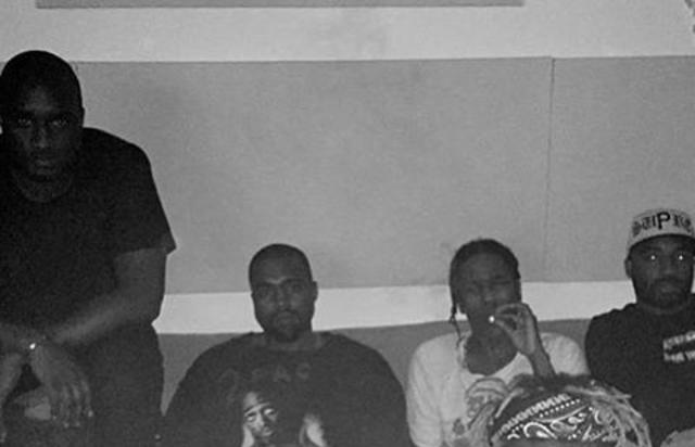 ASAP Rocky and Kanye West are up to something