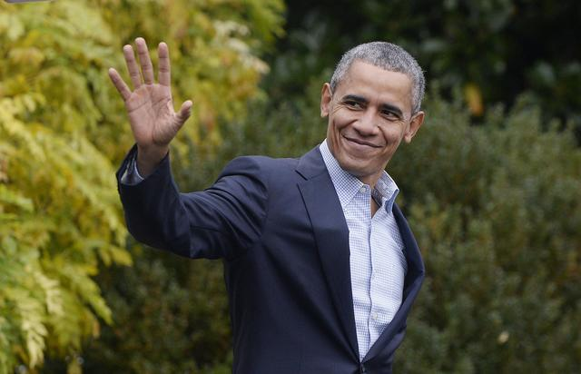 president obama departing for Climate Change Summit In Paris